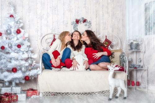 21 Новорічний - Оидн из самых радостных периодов - праздничные и новогодние фотосессии