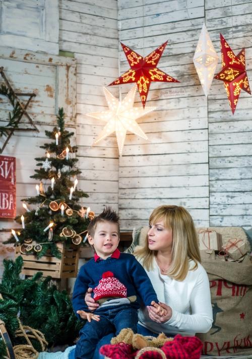32 Новорічний - Оидн из самых радостных периодов - праздничные и новогодние фотосессии
