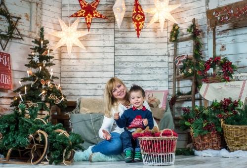 34 Новорічний - Оидн из самых радостных периодов - праздничные и новогодние фотосессии