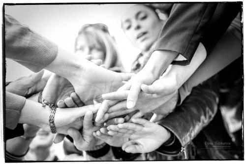 10 ЦЗВЛ - фотосессия компании единомышленников - Здорово когда люди делают одно дело, дышат одним воздухом, поют одни песни)